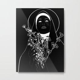 Lady Nox Metal Print