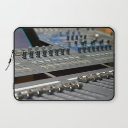 Mixing Console Laptop Sleeve