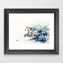 Celerity Framed Art Print
