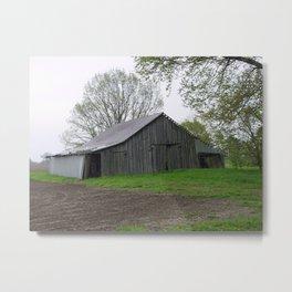 Barn Collection 3 Metal Print