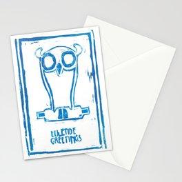 Weiser-Künstler Eule Stationery Cards