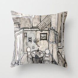Artdeco Throw Pillow
