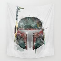 hunter Wall Tapestries featuring star hunter by bri.buckley