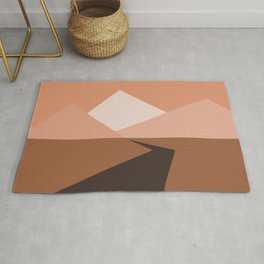 To The Mountains Rug