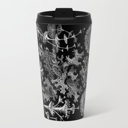 Lichens(Lichenes) by Ernst Haeckel Travel Mug