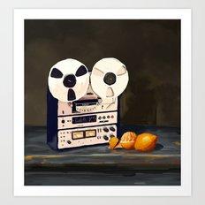 Tape Recorder Art Print