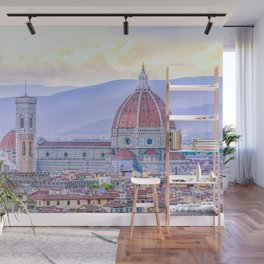 Cathedral of Santa Maria del Fiore  Florence Italy Wall Mural
