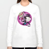 invader zim Long Sleeve T-shirts featuring Invader Zim You Irk Me by Squ1dP0ny
