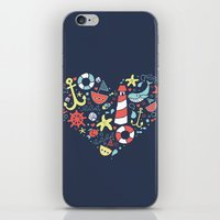nautical iPhone & iPod Skins featuring Nautical by lindsey salles