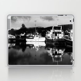 Boats on the Canal Laptop & iPad Skin
