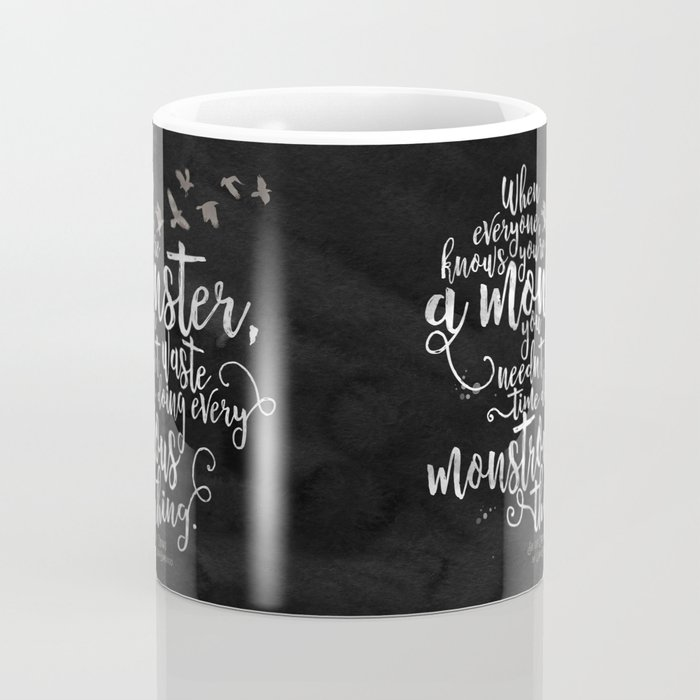 Six of Crows - Monster - Black Coffee Mug
