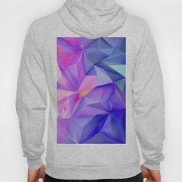 Pink Geometric Pattern Hoody