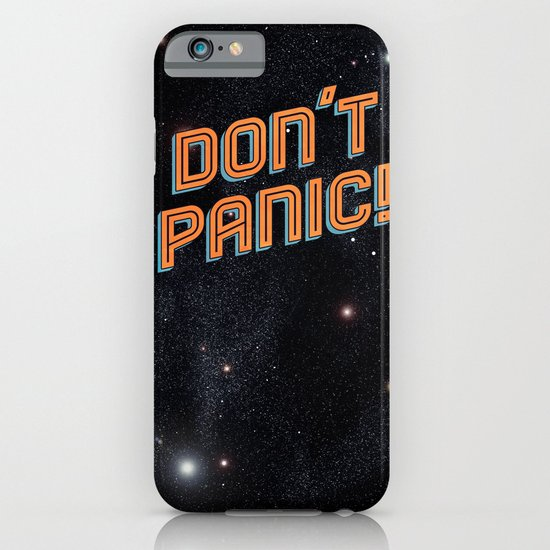 Don't Panic iPhone & iPod Case