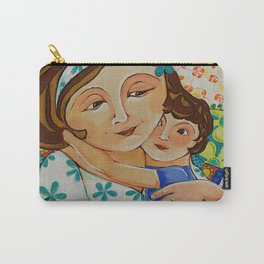 """Me, My Son And An Old Blanket"" Carry-All Pouch"