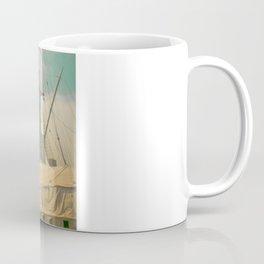Vintage Old Ship Coffee Mug