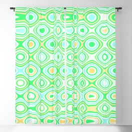 Asymmetry collection: the green forest Blackout Curtain