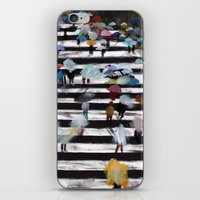 blur iPhone & iPod Skins featuring Blur by KERPLUNK