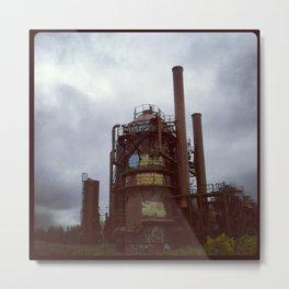 Seattle Gasworks Park Metal Print