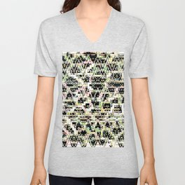 Faded Connections Unisex V-Neck