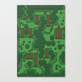 Gamers Have Hearts - The Lost Link Canvas Print