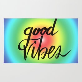 Good Vibes - Rainbow Pride Rug