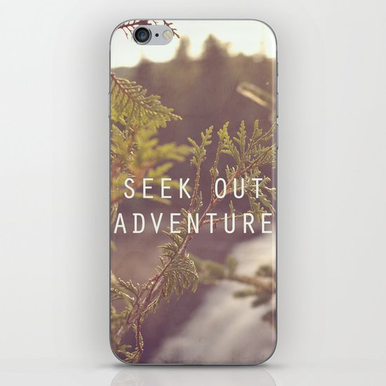 seek out adventure. iPhone & iPod Skin