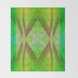 digital texture Throw Blanket