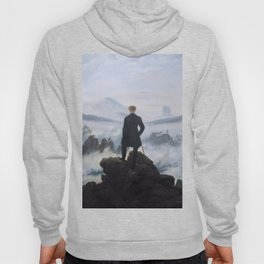 Caspar David Friedrich - Wanderer above the sea of fog Hoody