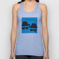 No012 My Blues brothers minimal movie poster Unisex Tank Top