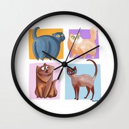 4 Coots Wall Clock