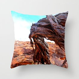 Patterns of the Outback Throw Pillow