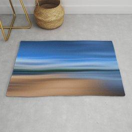 Beach Blur Painted Effect Rug