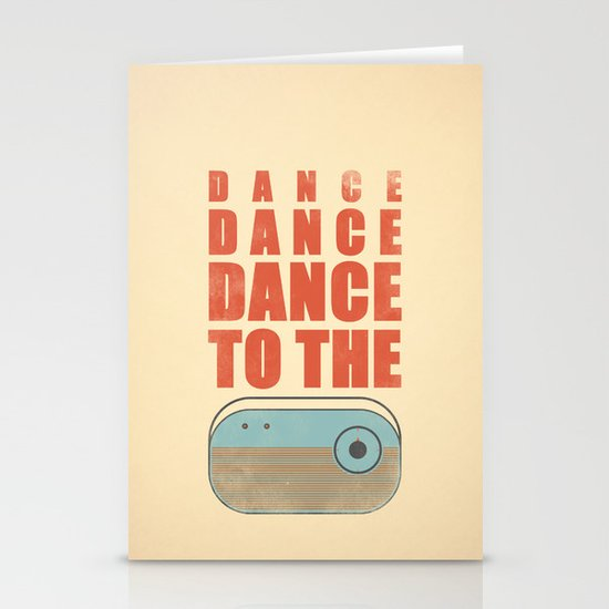 Dance To The Radio! Stationery Cards