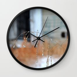 Droplets, 3 Wall Clock