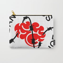 Thought Provoking-Shirt Brand Carry-All Pouch