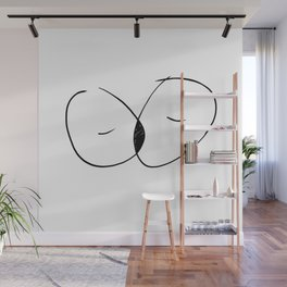 The space in between Wall Mural