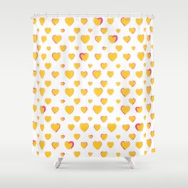 Made for you my heart 24 Shower Curtain