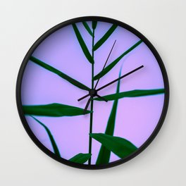 Reach to the Sky at Sunset 4 Wall Clock