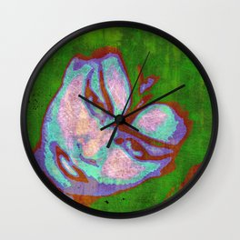 Cat Eye Goddess Wall Clock