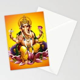Hindu Ganesha 2 Stationery Cards