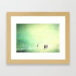 Big Sea Framed Art Print