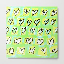 Flying Hearts ~ Change of Heart Metal Print