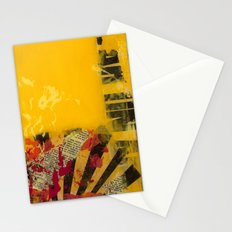 YELLOW 3 Stationery Cards