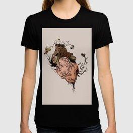 Carnivorous Plant Heart T-shirt