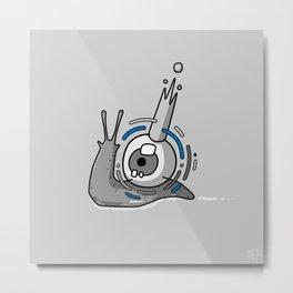 One Eyed King #Snail Metal Print