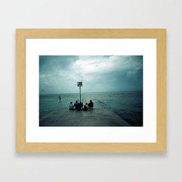 We are here Framed Art Print