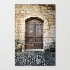 Histoire de portes VI Canvas Print