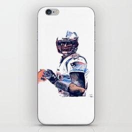 """GOAT"" featuring Legend Tom Brady iPhone Skin"