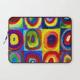 Wassily Kandinsky Color Study Laptop Sleeve