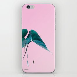 Pink Plant iPhone Skin